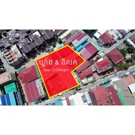 warehouse and land for sale (P_000461)